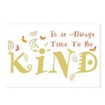 Always Time to be Kind Postcards (Package of 8)