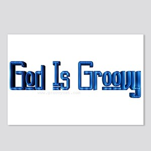 God IS Groovy Postcards (Package of 8)
