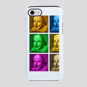 shakespeare-droeshout-pop-art- iPhone 7 Tough Case