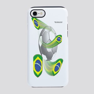 BrazilShieldSoccer_Bottle iPhone 7 Tough Case