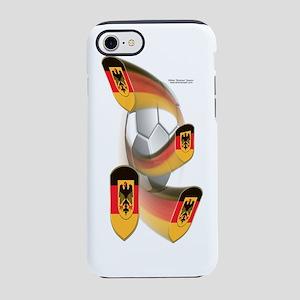 GermanyShieldSoccer_Bottle iPhone 7 Tough Case