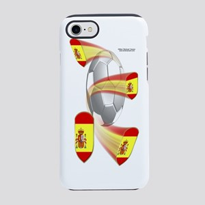 SpanishShieldSoccer_Bottle iPhone 7 Tough Case