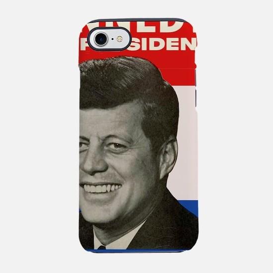 JFK / John F. Kennedy 16x20 Po iPhone 7 Tough Case