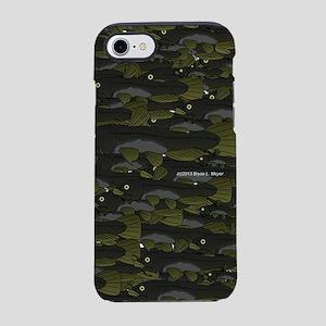 Black Bullhead School Pattern  iPhone 7 Tough Case