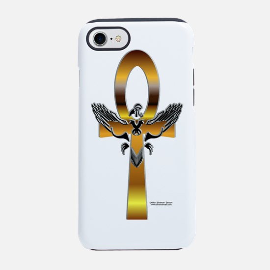 HeruAnkhBottle.png iPhone 7 Tough Case
