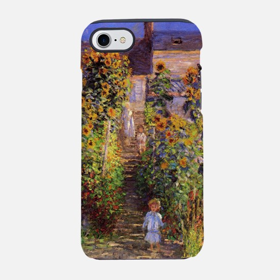 Seine bank at Vetheuil iPhone 7 Tough Case