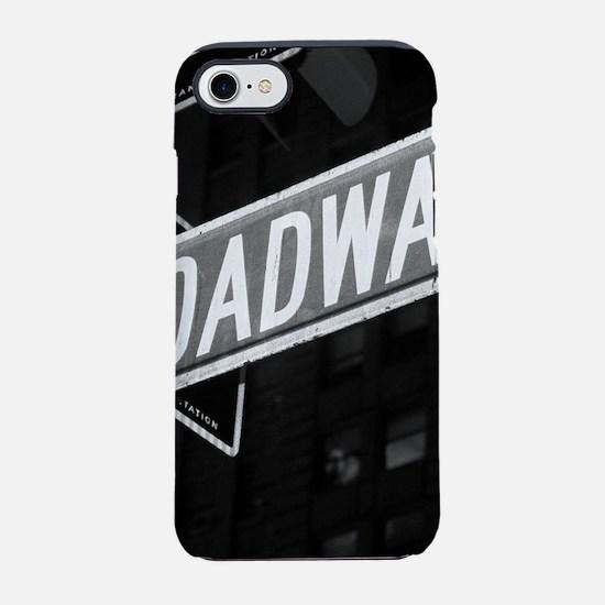 broadway4.png iPhone 7 Tough Case