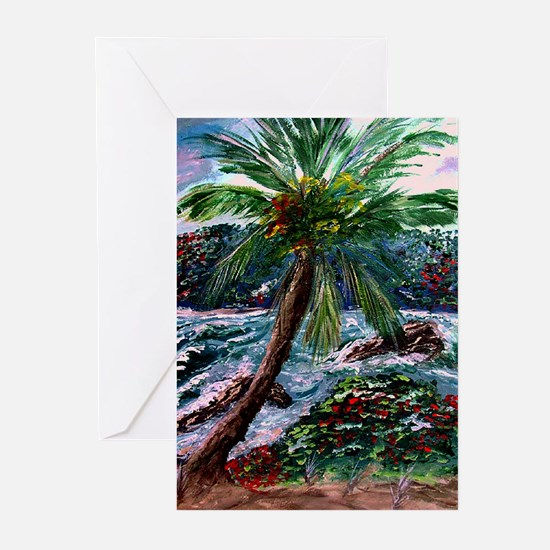 """Maui Palm"" Greeting Cards (Pk of 10)"