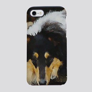 Tri Color Collie iPhone 7 Tough Case