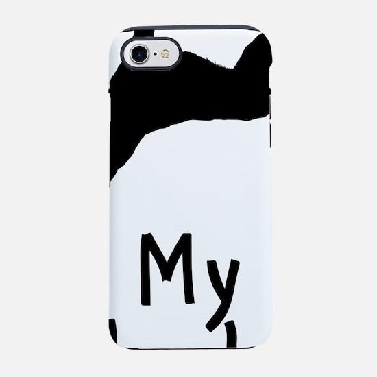 10-9-8-7-6-5-4-3-Siberian-Husk iPhone 7 Tough Case