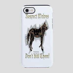 Bottle_WolvesRespect iPhone 7 Tough Case