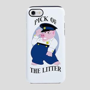 Police Pig-generic iPhone 7 Tough Case