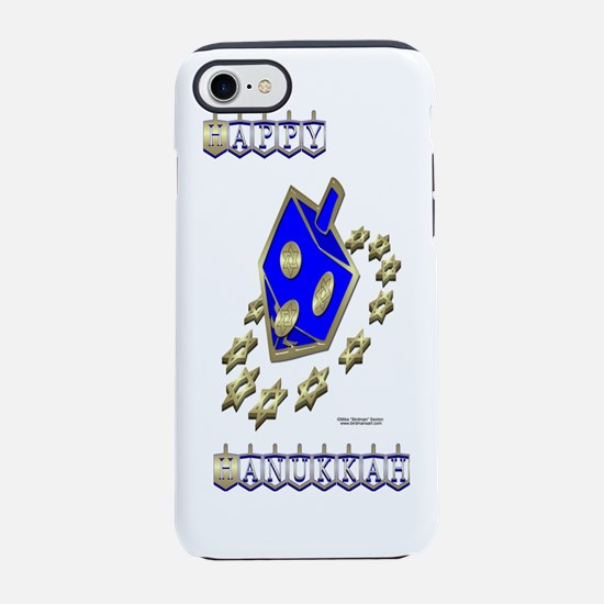 Bottle_DreidelStars.png iPhone 7 Tough Case