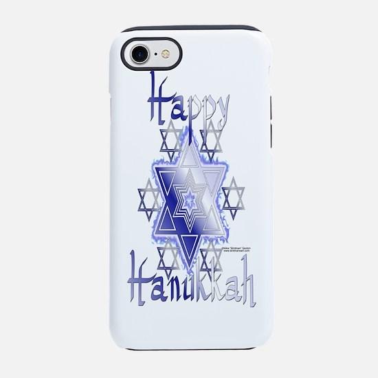 Bottle_StarofDavids.png iPhone 7 Tough Case