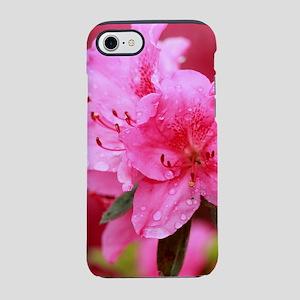 Pink azaleas iPhone 7 Tough Case