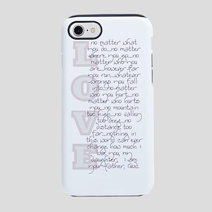 2-No Matter bottle iPhone 7 Tough Case