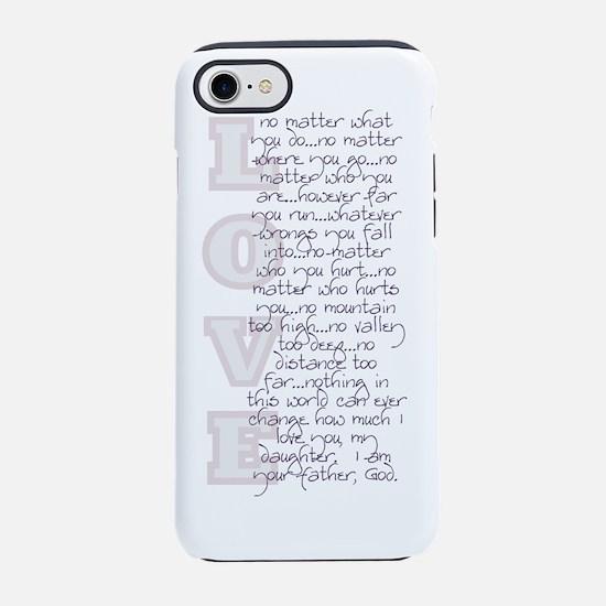2-No Matter bottle.png iPhone 7 Tough Case