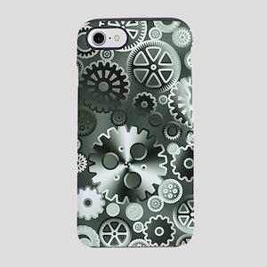 Steel gears iPhone 7 Tough Case