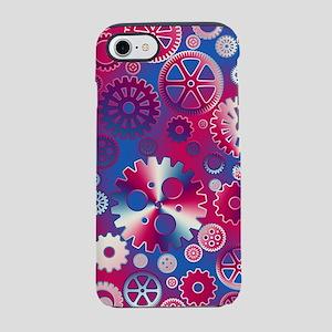 Metallic gears iPhone 7 Tough Case