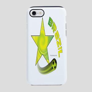 Bottle_BrazilStarSwoosh iPhone 7 Tough Case