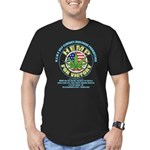 Hemp for Victory Men's Fitted T-Shirt (dark)