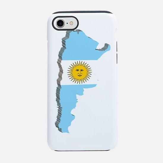 3DArgentina2.png iPhone 7 Tough Case