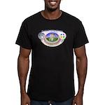 mSong Men's Fitted T-Shirt (dark)