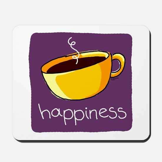 Happiness is Coffee Mousepad