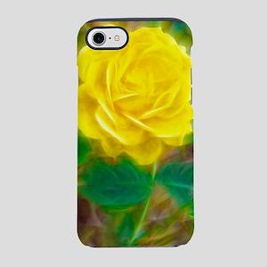 Yellow Rose iPhone 7 Tough Case