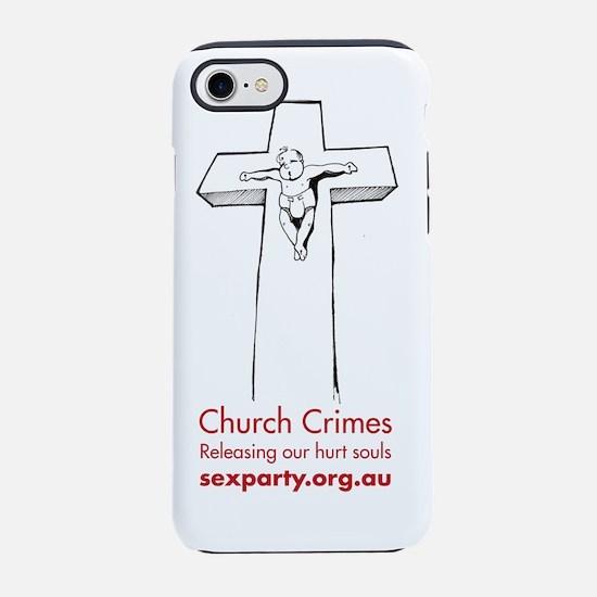 church_crimes.png iPhone 7 Tough Case