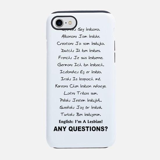 Im a.png iPhone 7 Tough Case