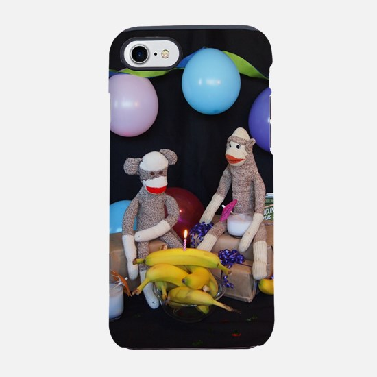 The Birthday Party - Sock Monk iPhone 7 Tough Case