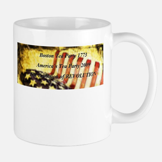 Evolution of Revolution Mug
