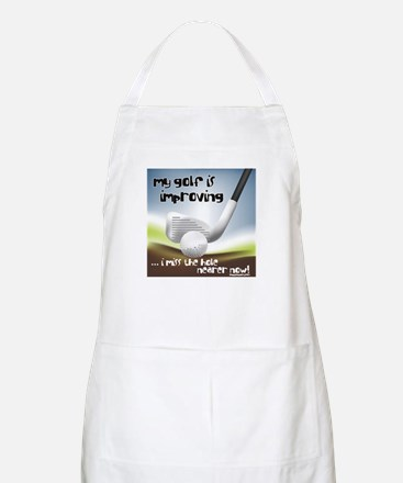 Golf Improving BBQ Apron