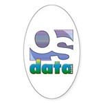 OSdata Oval Sticker (50 pk)