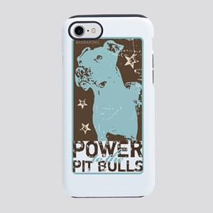 VintagePitBull_#3 iPhone 7 Tough Case