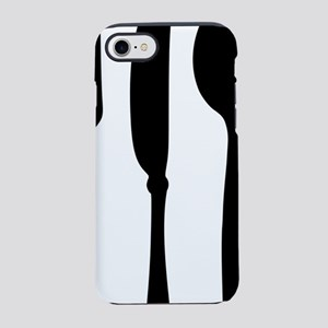 knife_fork_spoon iPhone 7 Tough Case