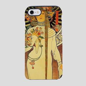 Vintage Art Nouveau Mucha Trap iPhone 7 Tough Case
