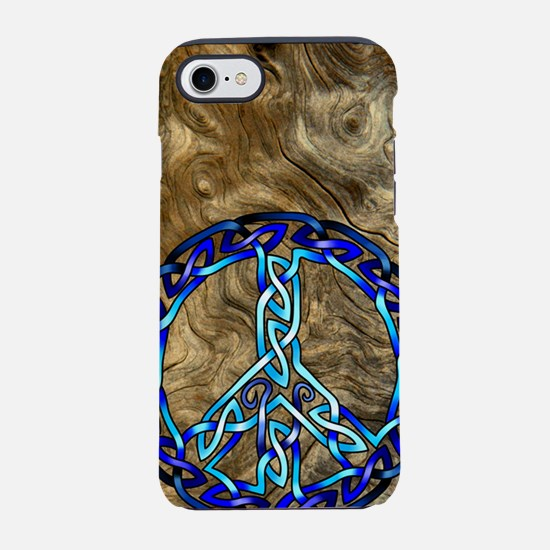 Crystal Blue12 iPhone 7 Tough Case