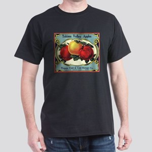 Vintage Fruit Crate Label Dark T-Shirt