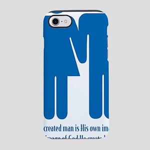 created male  female iPhone 7 Tough Case