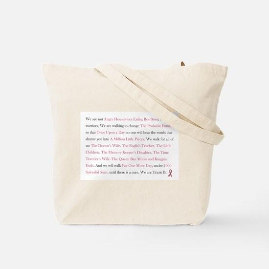 Triple B Tote Bag