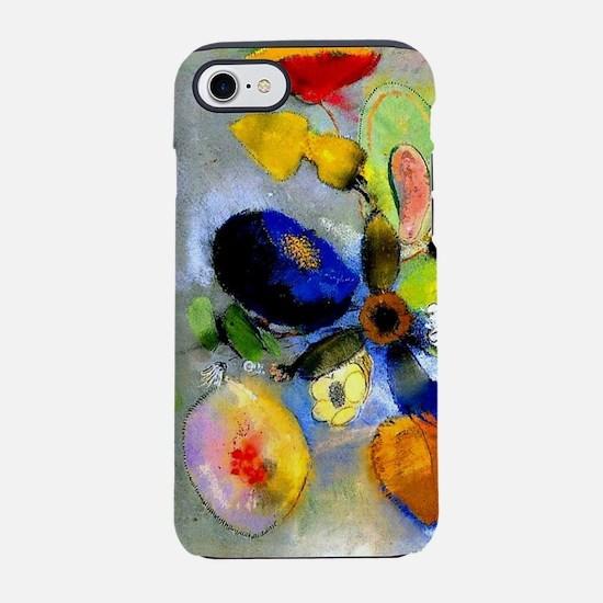 Odilon Redon floral painting:  iPhone 7 Tough Case