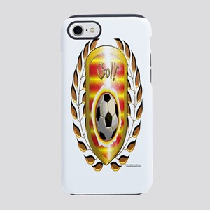 Bottle_SpanishLaurelWreath iPhone 7 Tough Case