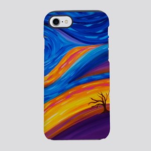 Neighbors: Swirling Sky House iPhone 7 Tough Case