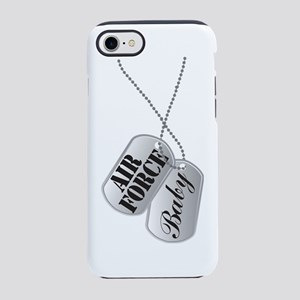 Air Force Baby Dog Tags iPhone 7 Tough Case