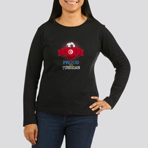 Football Tunisia Tunisians Soc Long Sleeve T-Shirt