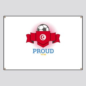 Football Tunisia Tunisians Soccer Team Spor Banner