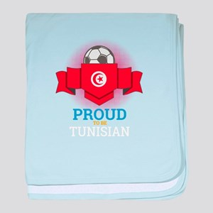 Football Tunisia Tunisians Soccer Tea baby blanket