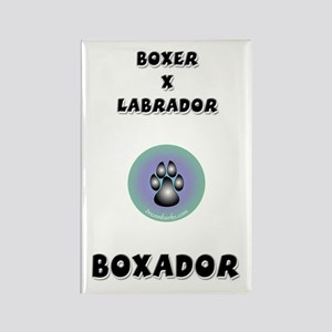 Boxador Rectangle Magnet